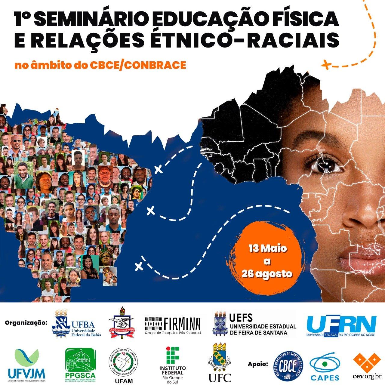 1° Congresso de Educação Física e Relações Étnico-Raciais